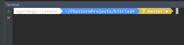 How to switch from bash to zsh with Terminator and PhpStorm